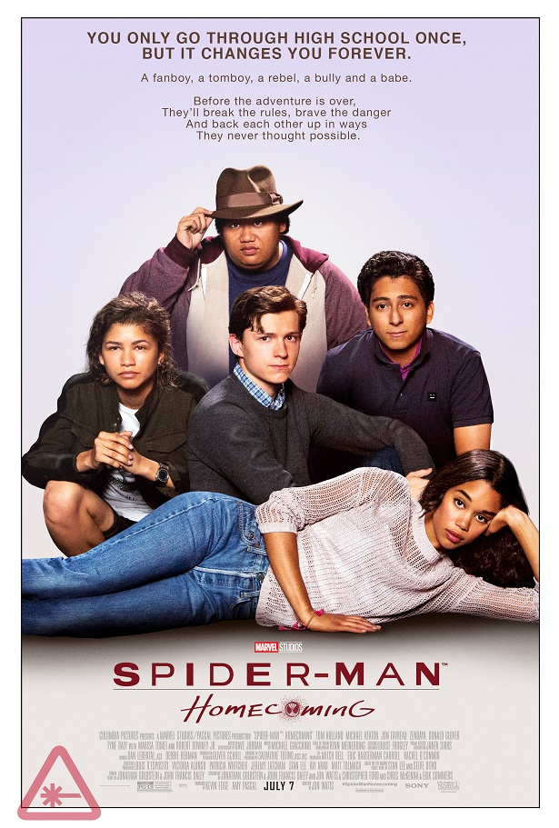SPIDERMAN: HOMECOMING Retro Movie Posters Reference THE BREAKFAST CLUB, FERRIS BUELLER, and More_4