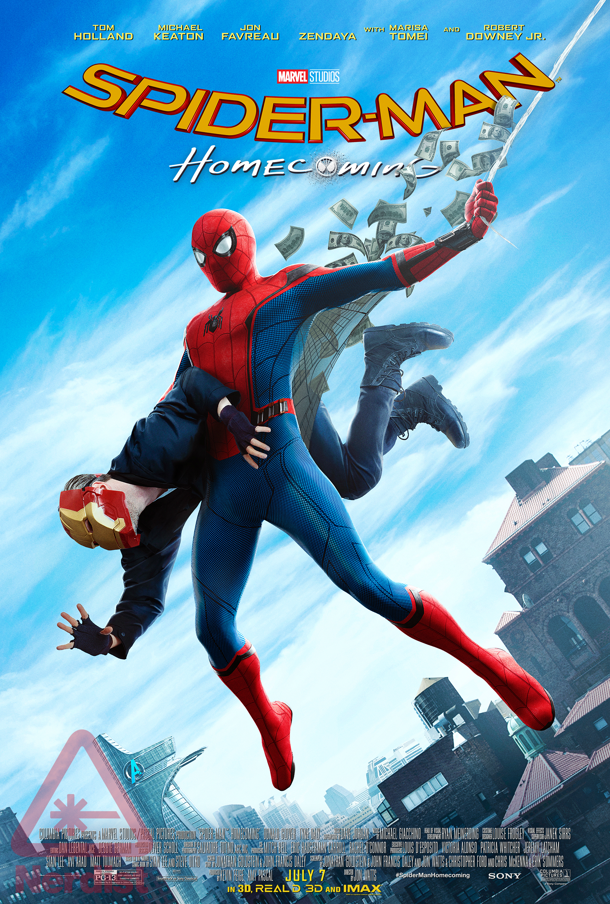 Spider-Man-Homecoming-Amazing-Fantasy-Exclusive-Poster-Nerdist