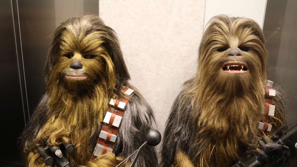 Adam Savage and John Hodgman Went Incognito as Chewbacca Duo at Comic-Con