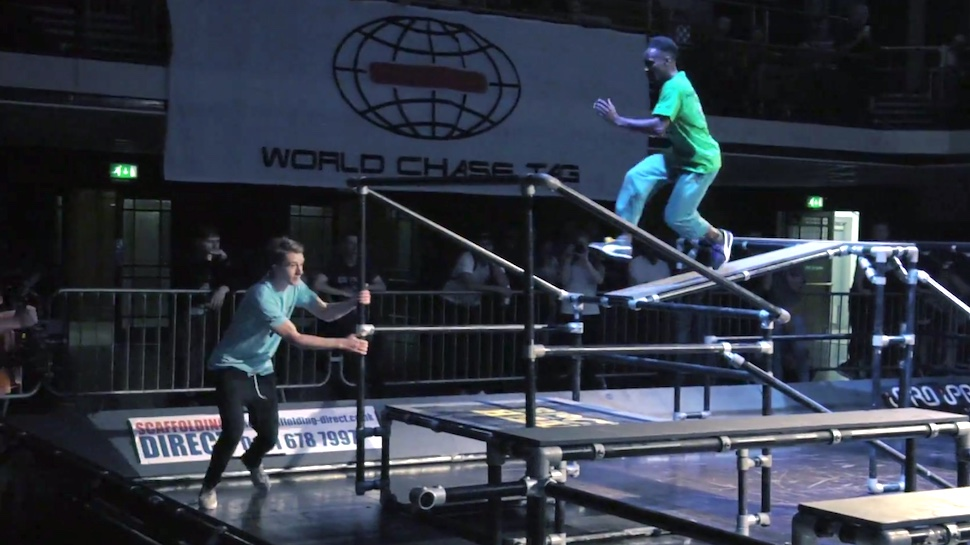 Professional Tag is Basically Super Intense Competitive Parkour