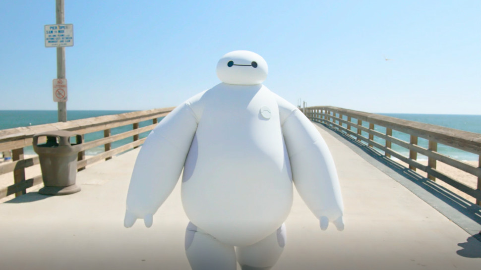 BIG HERO 6's Baymax Comes to Life in New Disney IRL Video (Exclusive)