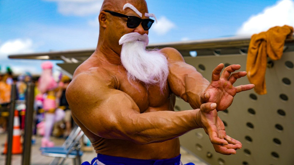 This Cosplay Convinces Us DRAGON BALL's Master Roshi is Real
