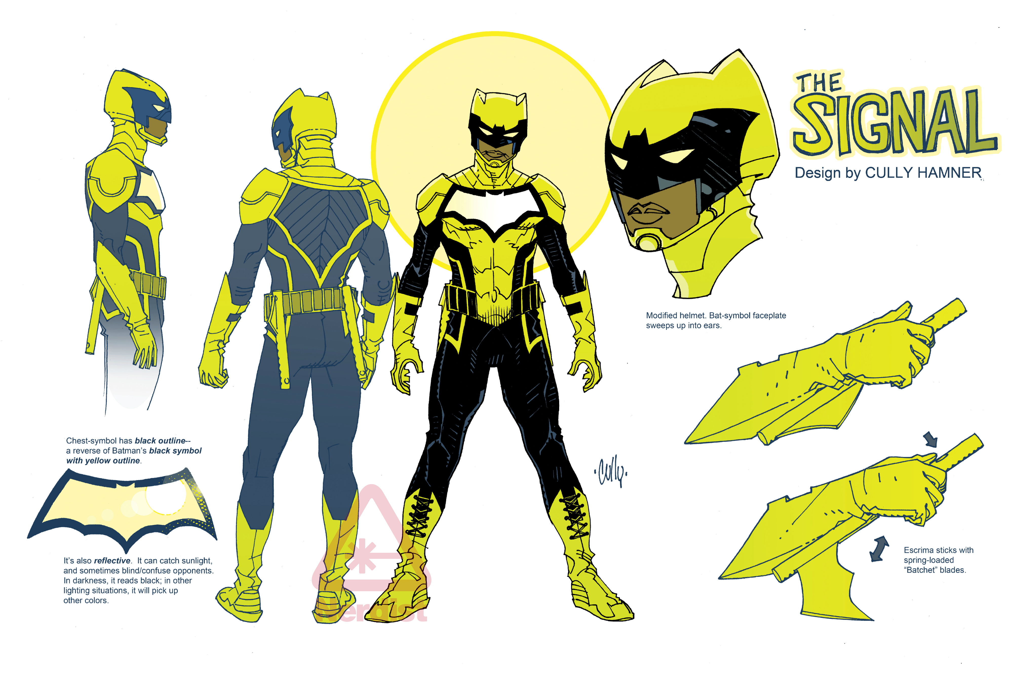 First Look At Cully Hamners Batman And The Signal Designs