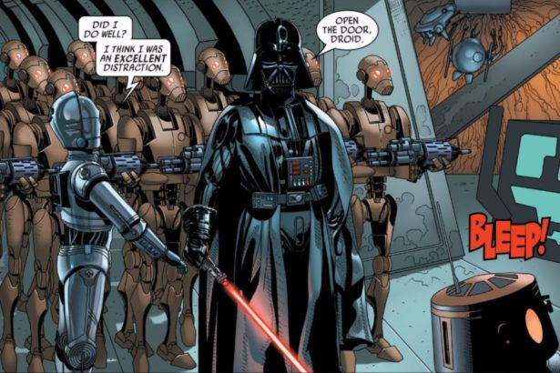 Could Evil R2-D2 in the DARTH VADER Comic Be an Inspiration for Evil BB-8?_6