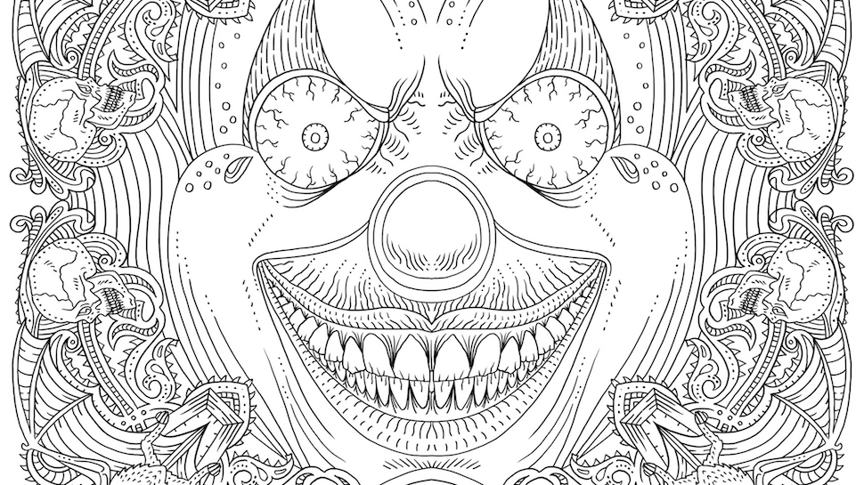 This Horror Coloring Book Is Equally Creepy And Relaxing Exclusive