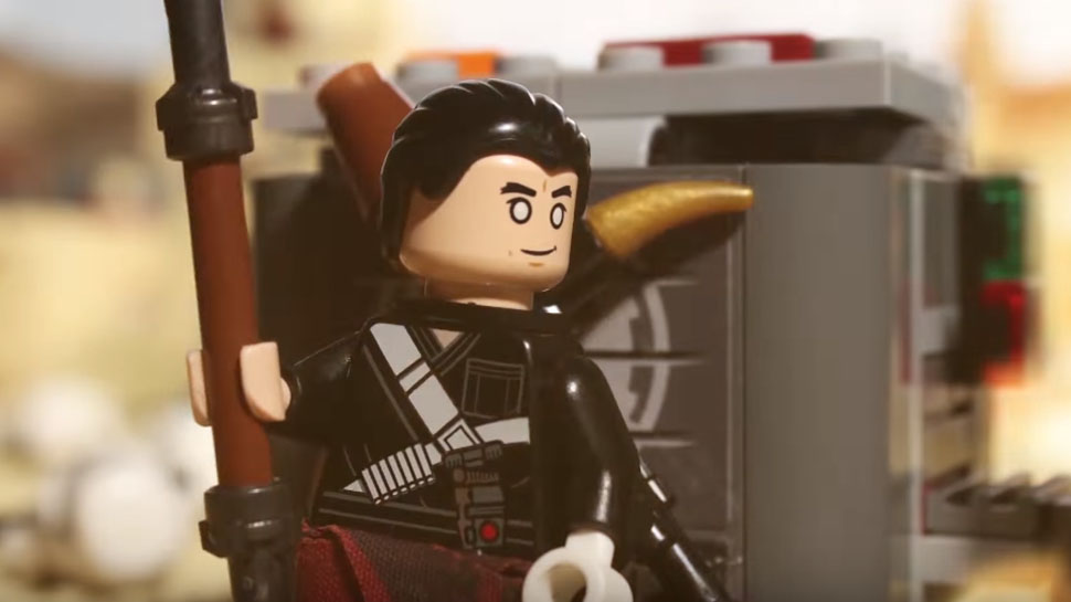 ROGUE ONE's Chirrut Takes on Literally Everyone in New LEGO STAR WARS Parody