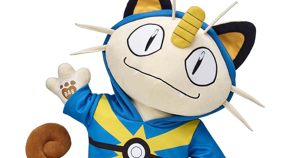 Prepare for Trouble with Meowth, Build-A-Bear's New POKÈMON Plush