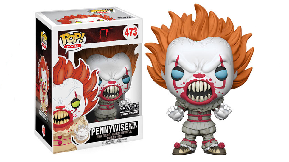 Pennywise from Stephen King's IT Gets Terrifying New Funko Pop!