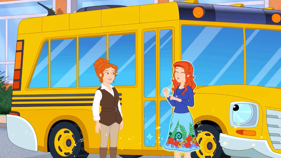 THE MAGIC SCHOOL BUS RIDES AGAIN Trailer Introduces a New Ms ...