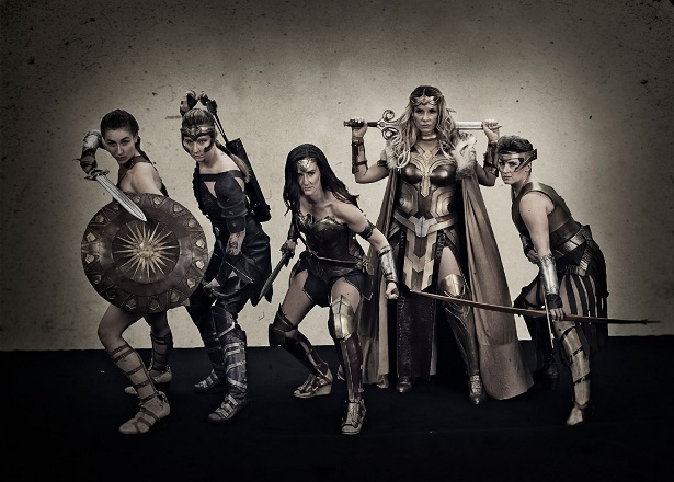 WONDER WOMAN Cosplay Group Is All About the Amazons_10
