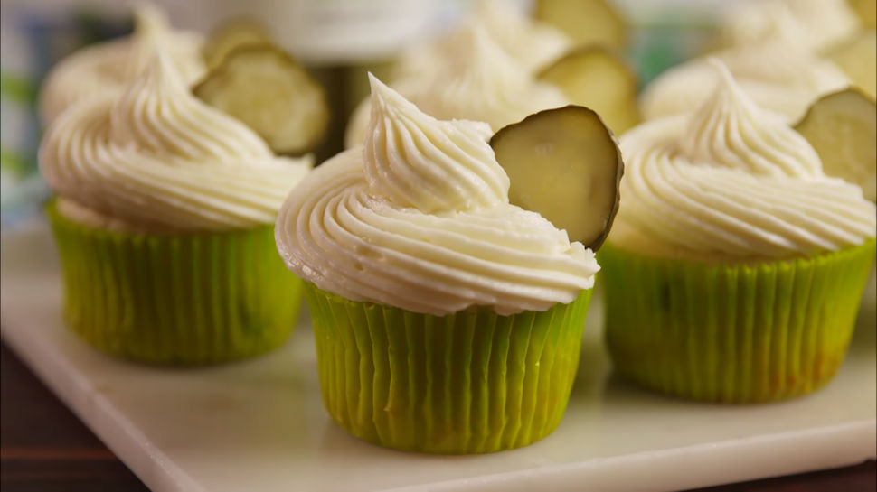 Do You Relish the Thought of Pickle Cupcakes?