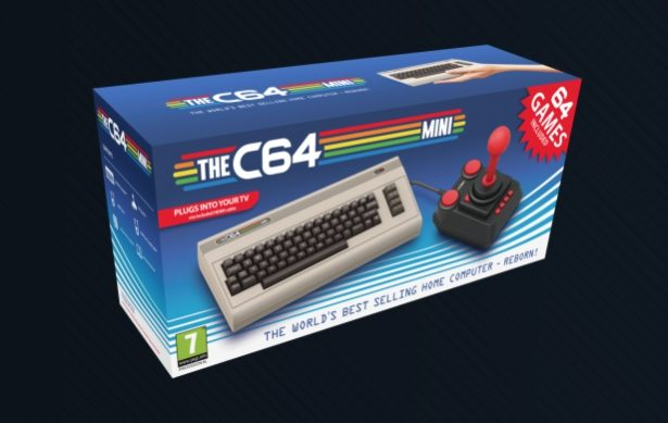 The Commodore 64 Mini Comes with Over 60 Games, '80s