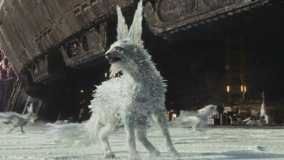Why THE LAST JEDI's Foxes Look Crystalline