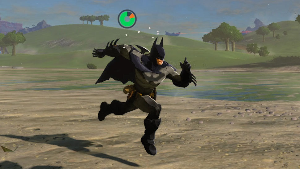 Batman Comes to Hyrule in LEGEND OF ZELDA: BREATH OF THE WILD Mod