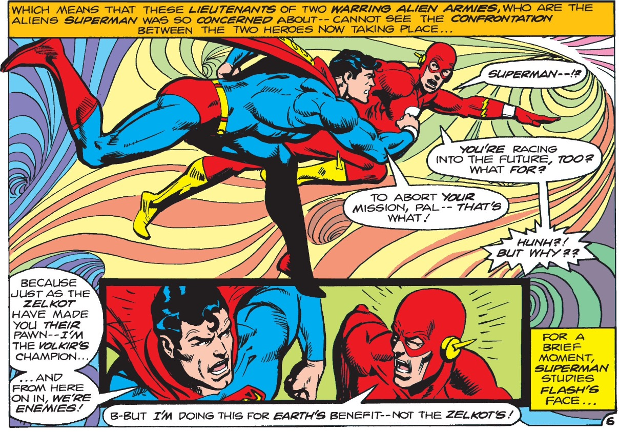 A Brief History of Why The Flash is Faster Than Superman_4