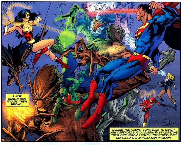 JUSTICE LEAGUE'S Strange History with Forgettable Aliens_4