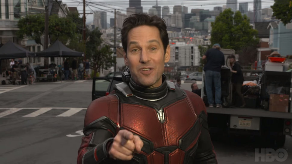 "Paul Rudd ""Answers Questions"" from the ANT-MAN AND THE WASP Set"