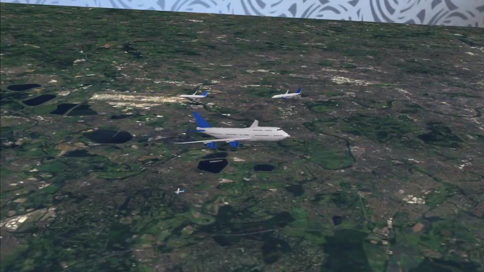 AR 'Plane Finder' App Turns Flat Surfaces Into Incredible 3D Air Traffic Models