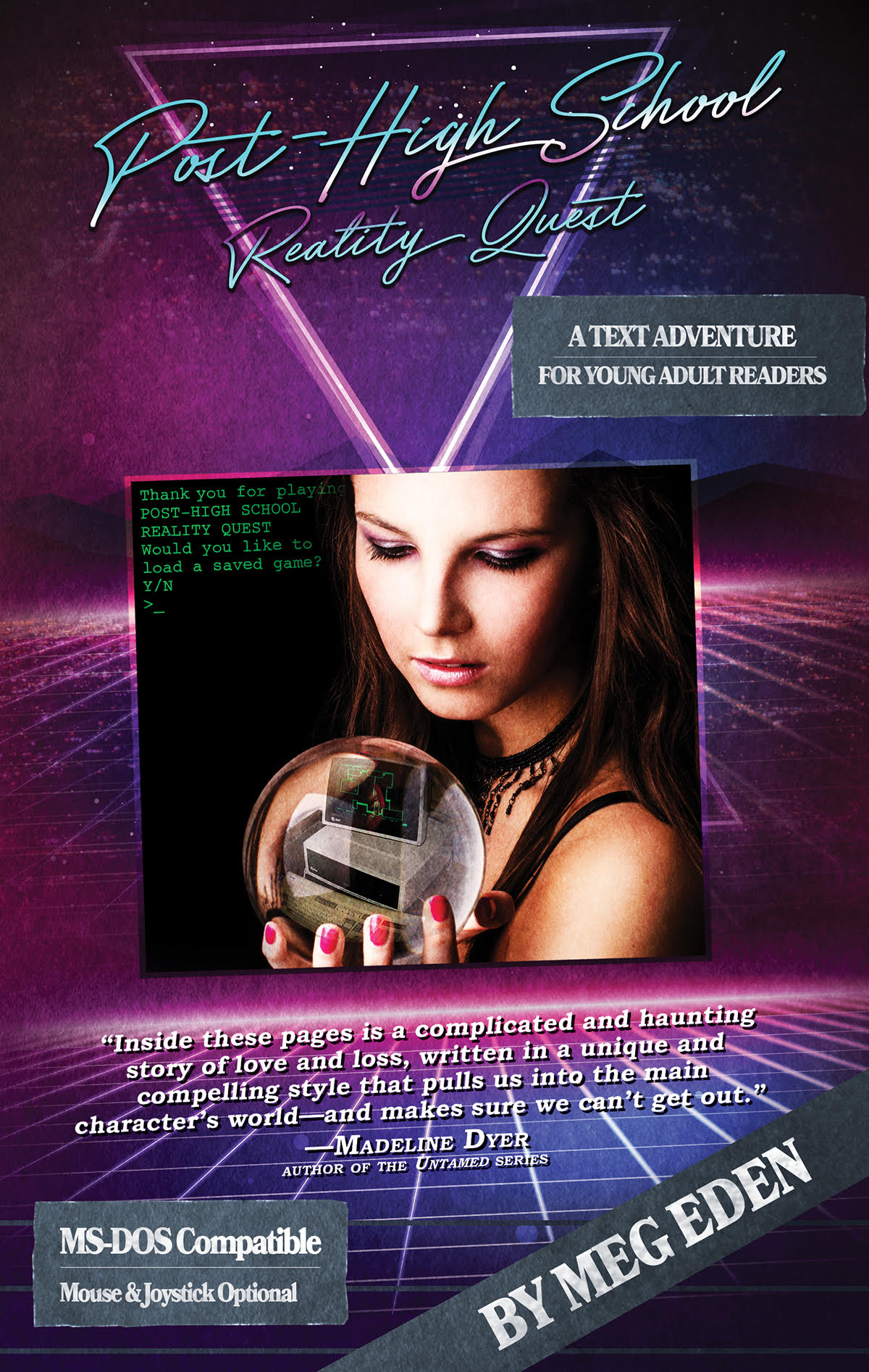 Meg Eden Discusses Her Text Adventure Game Inspired Book POST HIGH SCHOOL REALITY QUEST_2
