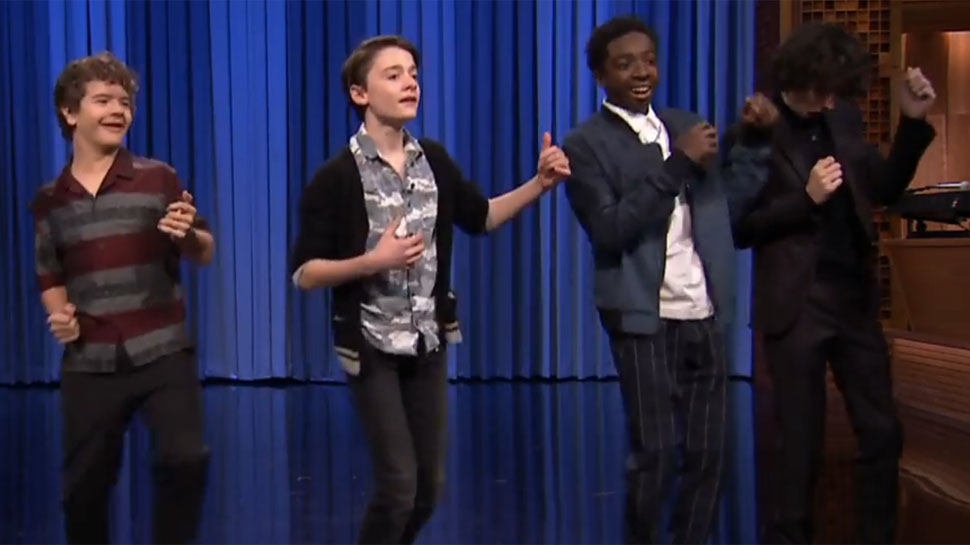 Watch the STRANGER THINGS Kids' Upside Get Down Dance-Off