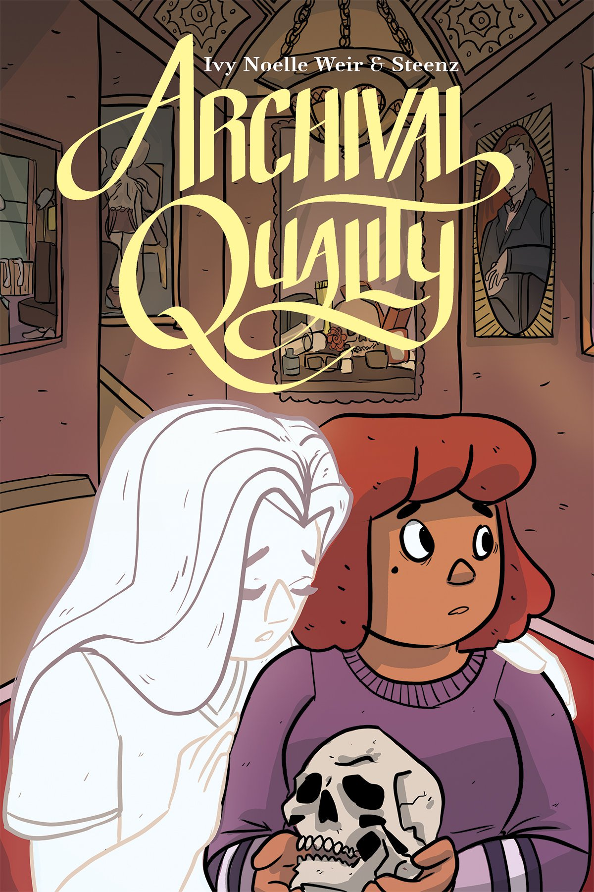 Get Excited for ARCHIVAL QUALITY, the Perfect Haunted Library Comic (Exclusive)_8