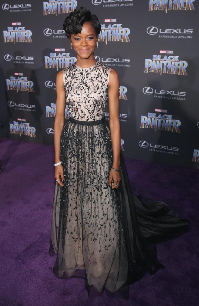 Resultado de imagem para black panther premieres dresses
