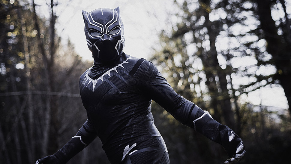 A BLACK PANTHER Cosplay Worthy of a King