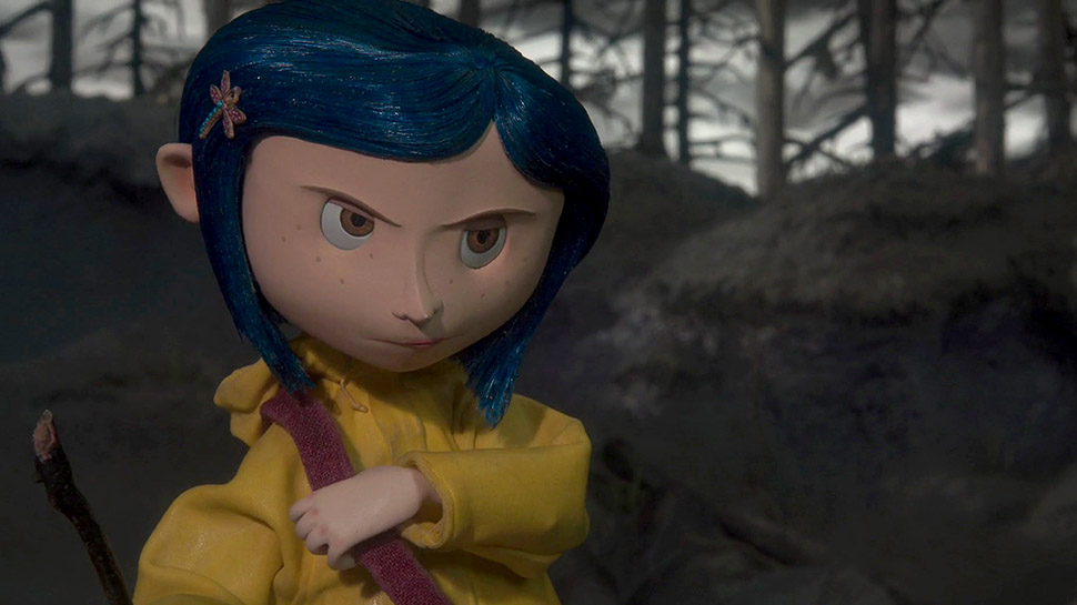 maisie williams cosplayed as coraline so coraline