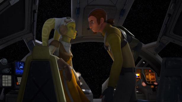 STAR WARS REBELS' Dave Filoni Explains Hera and Kanan's Kiss_4