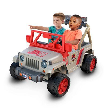 Go on a Totally Safe JURASSIC PARK Tour with This Power Wheels Jeep_1