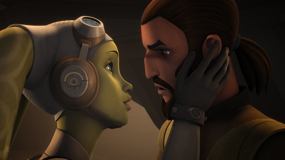 STAR WARS REBELS' Dave Filoni Explains Hera and Kanan's Kiss