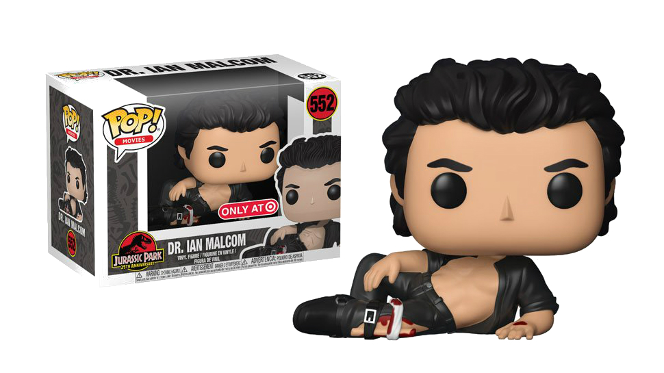 Behold the Sexy Jeff Goldblum JURASSIC PARK Funko You've Always Wanted