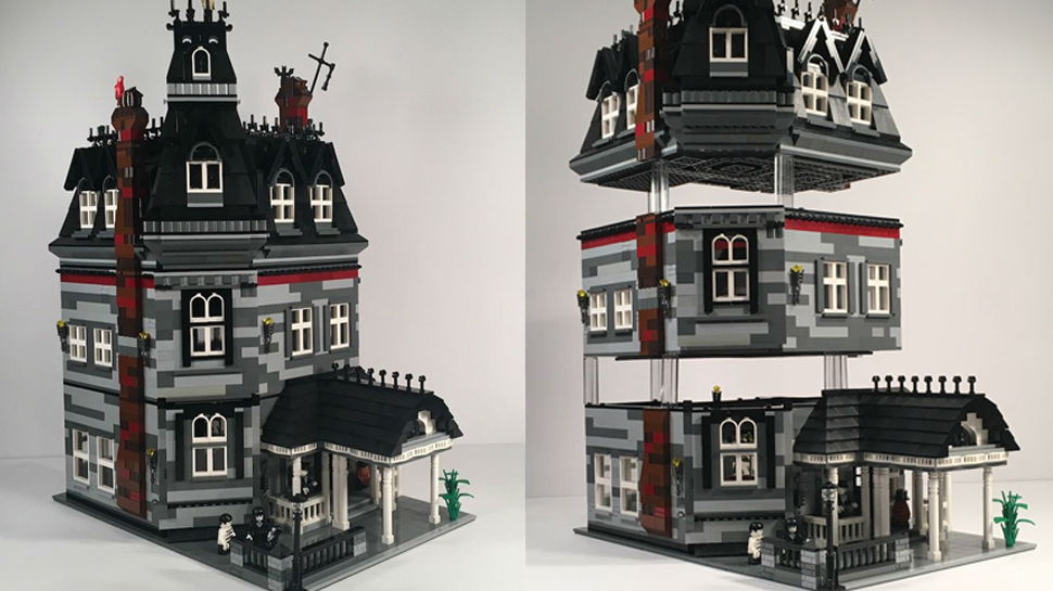You Can Help Make This ADDAMS FAMILY Mansion LEGO Set A Reality
