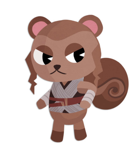 STAR WARS Characters As ANIMAL CROSSING Villagers Deserve All the Bells_8