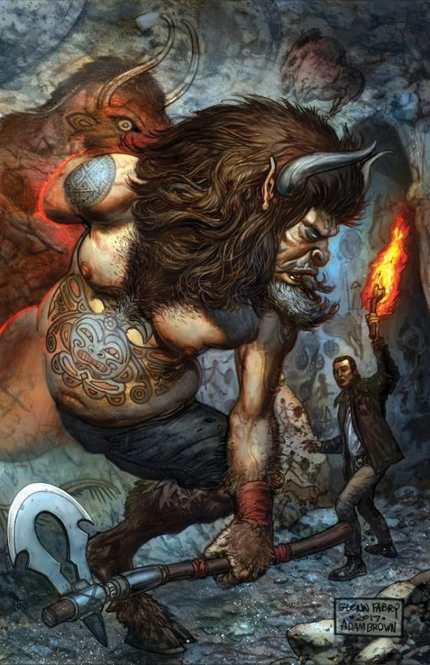 New AMERICAN GODS Comic Series Gets Gorgeous Con Exclusive Cover_2