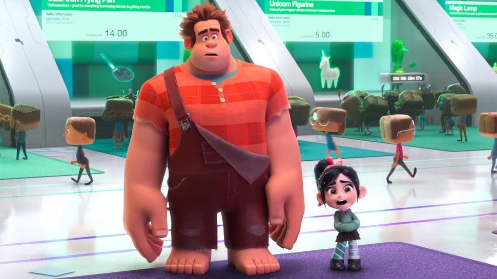 RALPH BREAKS THE INTERNET in the WRECK-IT RALPH 2 Trailer ...Wreck It Ralph Trailer 3