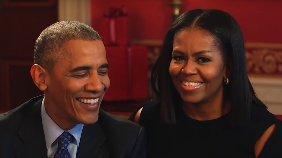 Michelle Obama Made a Personal Valentine's Day Playlist for Barack