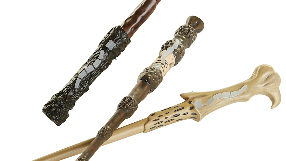 These HARRY POTTER Wands Track Your Spells and Let You Play Magical Laser Tag