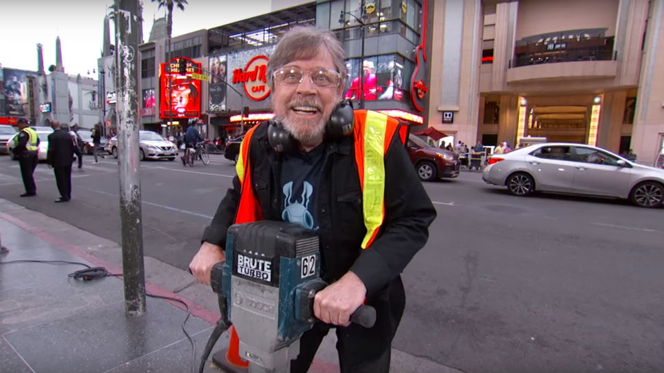 Mark Hamill Starts a Hollywood Walk of Fame Star War With Jimmy Kimmel