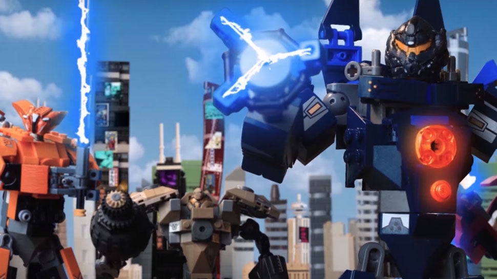 PACIFIC RIM: UPRISING Goes Full LEGO in New Fan Trailer