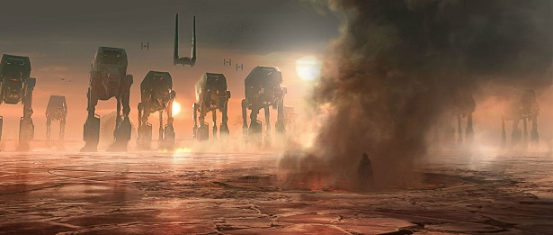 New THE LAST JEDI Concept Art Shows Beautiful Renditions of the Film's Biggest Moments_10