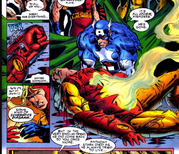 A Brief History of the Avengers Dying in the Comics_4