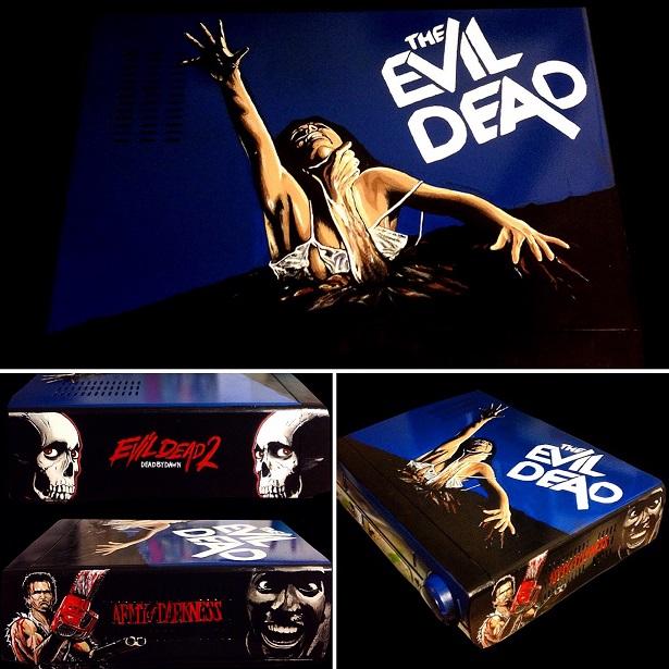 Custom VHS Player Art Honors Sci-Fi And Horror Classics_4
