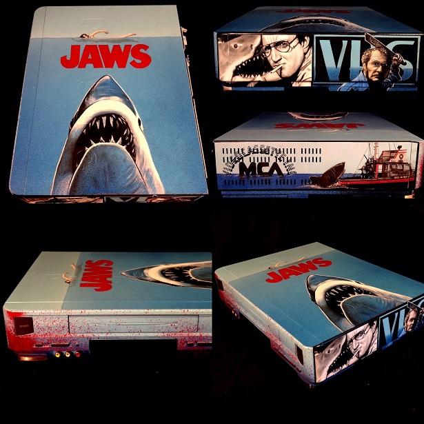 Custom VHS Player Art Honors Sci-Fi And Horror Classics_2