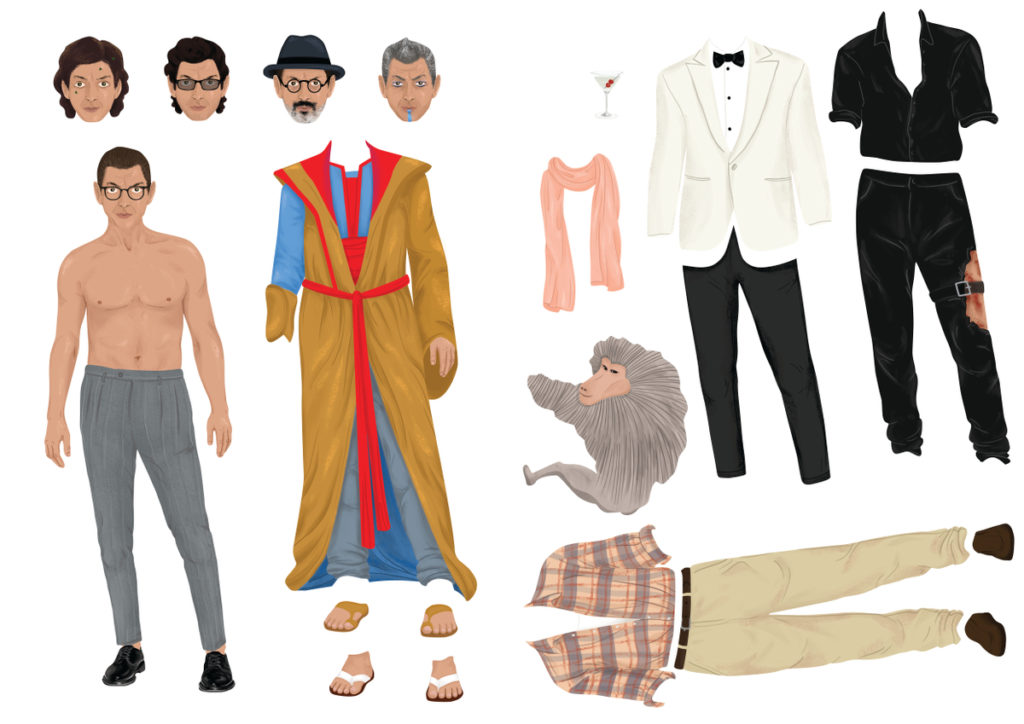 The Jeff Goldblum Dress-Up Magnet Set You Didn't Know You Needed_2