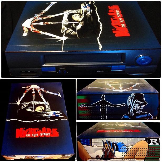 Custom VHS Player Art Honors Sci-Fi And Horror Classics_3