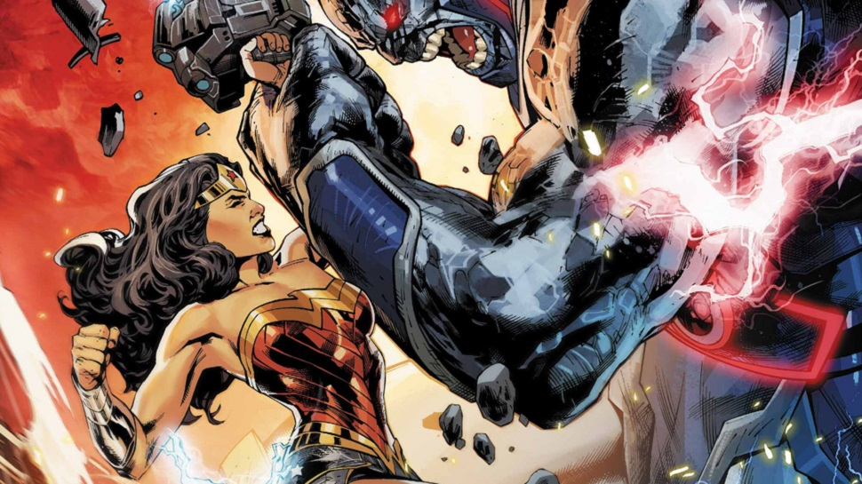 Diana Battles Darkseid in WONDER WOMAN #44 (Exclusive Preview)