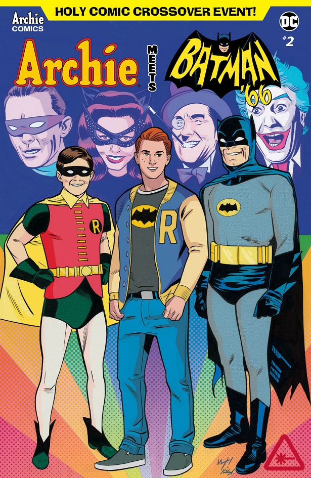 The Dynamic Duo Heads to Riverdale In ARCHIE MEETS BATMAN '66 #2 (Exclusive Covers Reveal)_10