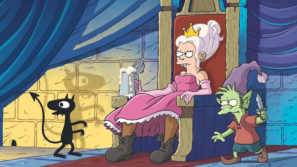 Matt Groening's New Animated Fantasy Series DISENCHANTMENT Shares First Images and Release Date | Nerdist