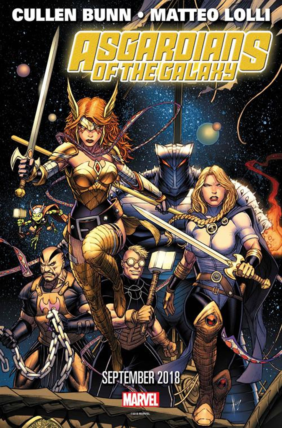 Marvel's ASGARDIANS OF THE GALAXY Will Defend the Universe After INFINITY WARS_1